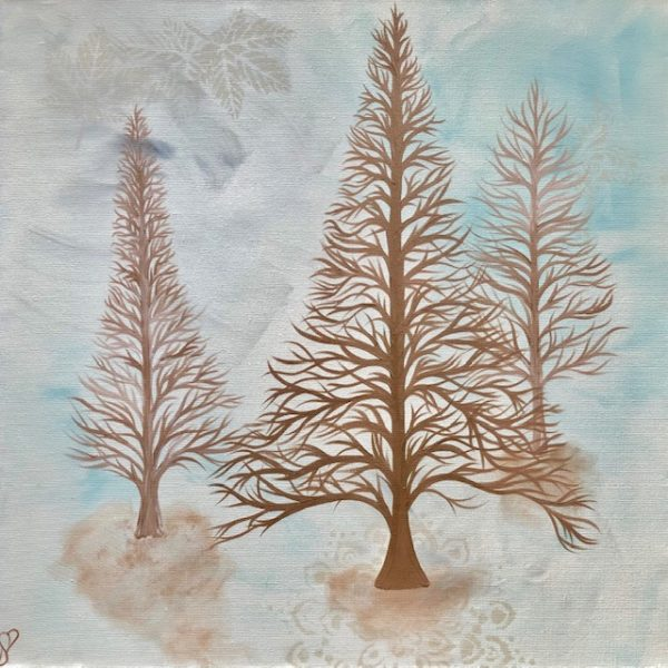 Deciduous Modern Contemporary Painting