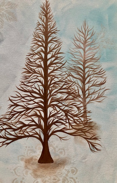 Deciduous Modern Contemporary Painting 5