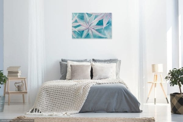 BREEZE MODERN FLORAL ABSTRACT PAINTING 8