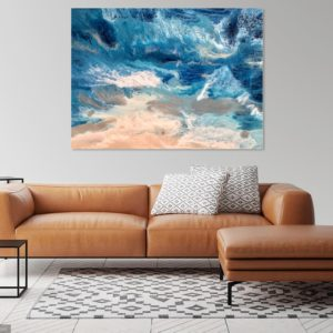 Stormy Sea Ocean Inspired Art