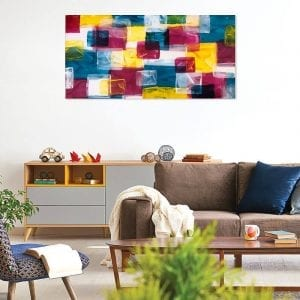 Layer Upon Layer Modern Industrial Style Art 7